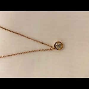 Rose Gold Kate Space Necklace